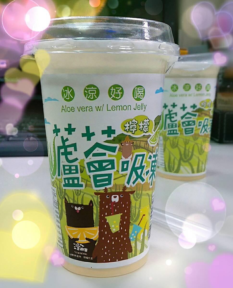 檸檬蘆薈吸凍-220g/杯