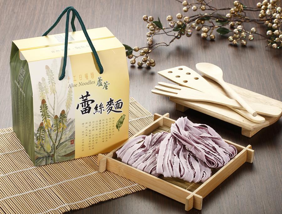 蘆薈蕾絲麵(600g-盒裝)紫地瓜