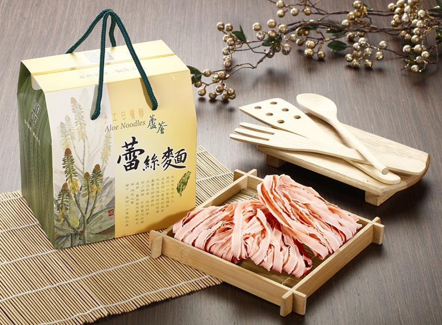 蘆薈蕾絲麵(600g-盒裝)南瓜
