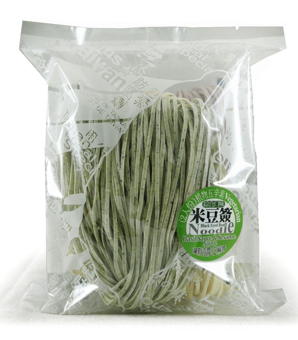 綜合米豆簽方便包(附蘿勒青醬+芝麻醬)植物五辛素