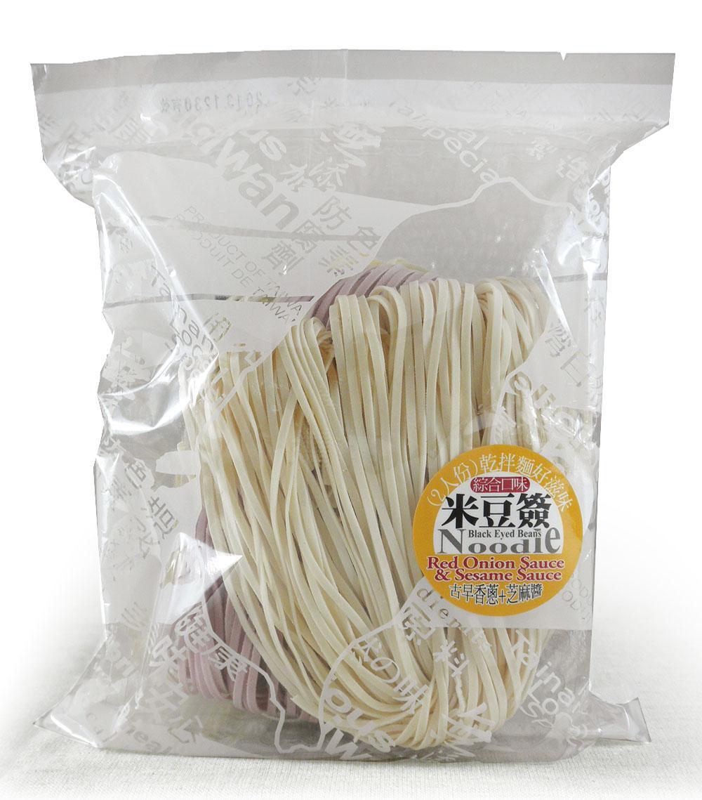 綜合米豆簽方便包(附香蔥醬+芝麻醬)植物五辛素