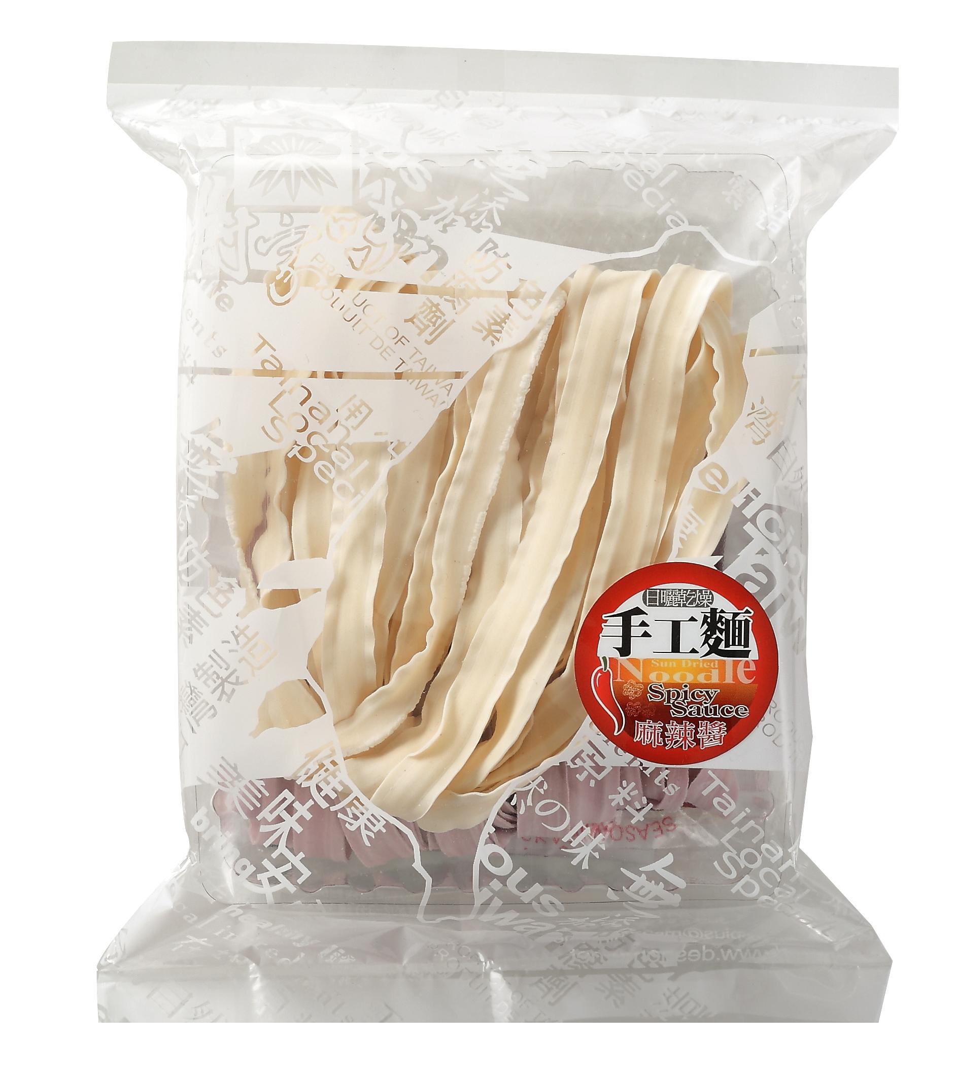 蘆薈蕾絲麵方便包(2片入)附麻辣醬--葷