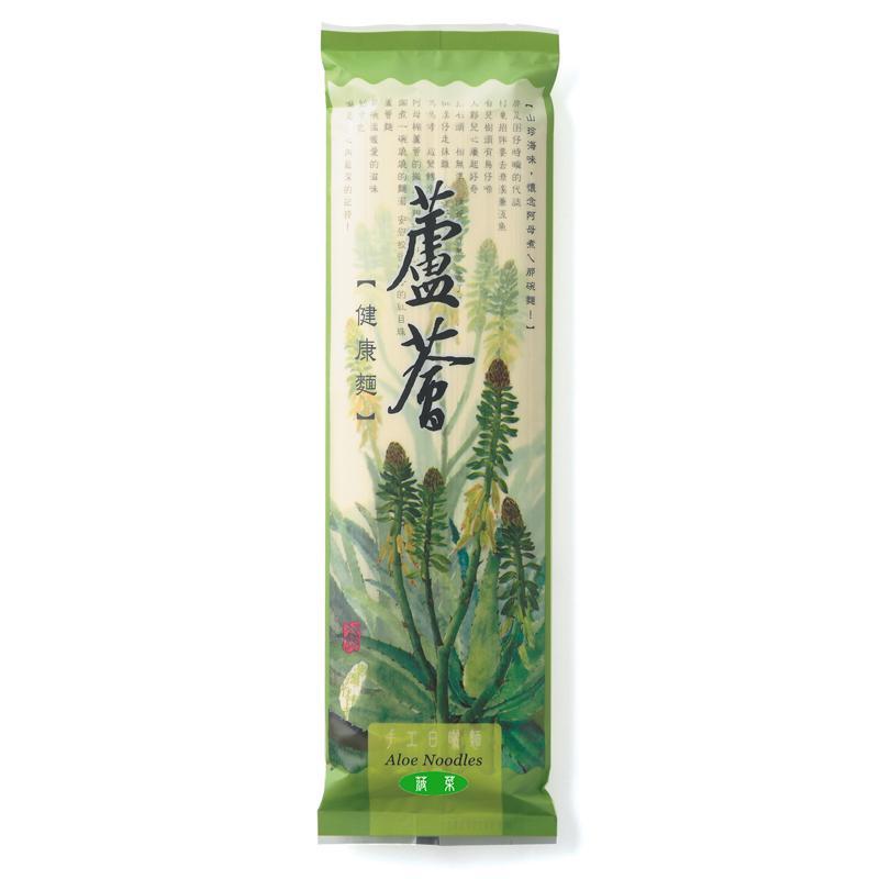 蘆薈健康麵-300g 菠菜口味