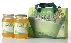 纖鮮蘆薈(2瓶入)伴手禮盒(百香果口味)