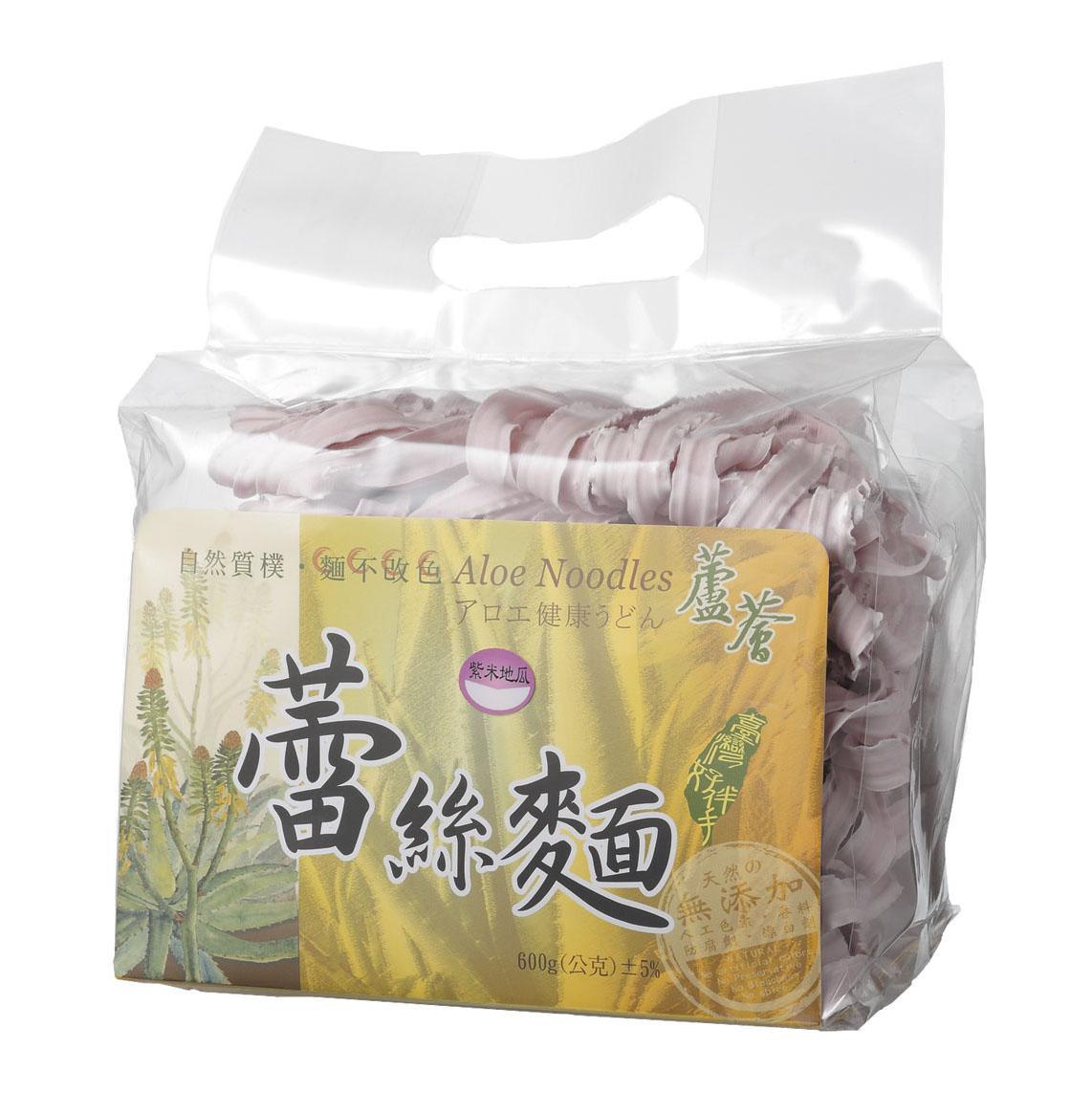 蘆薈蕾絲麵(600g-裸包)紫地瓜