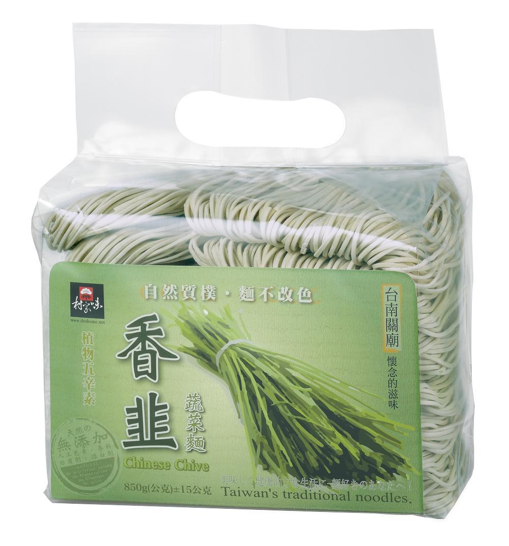 香韭蔬菜麵(850g)-植物五辛素