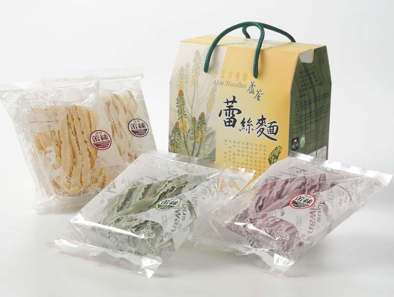 蘆薈蕾絲麵方便包伴手禮盒 (4包入)