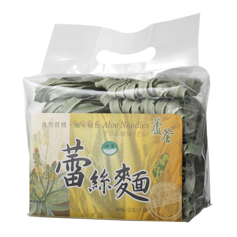 蘆薈蕾絲麵(600g-裸包)綠藻