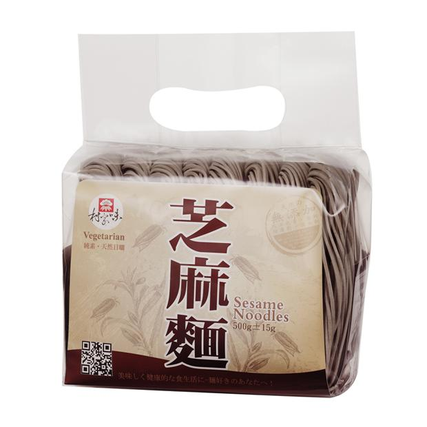芝麻麵 500g