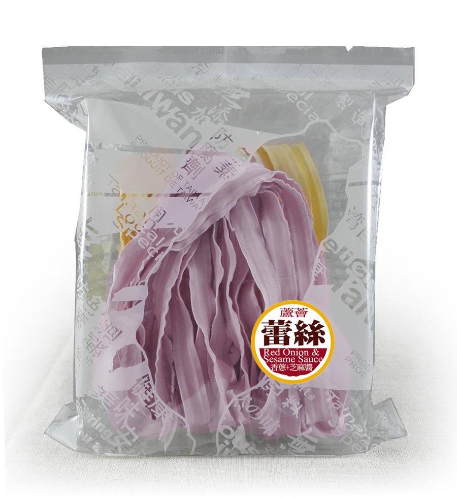 蘆薈蕾絲麵方便包(2片入)附香蔥芝麻醬--五辛素