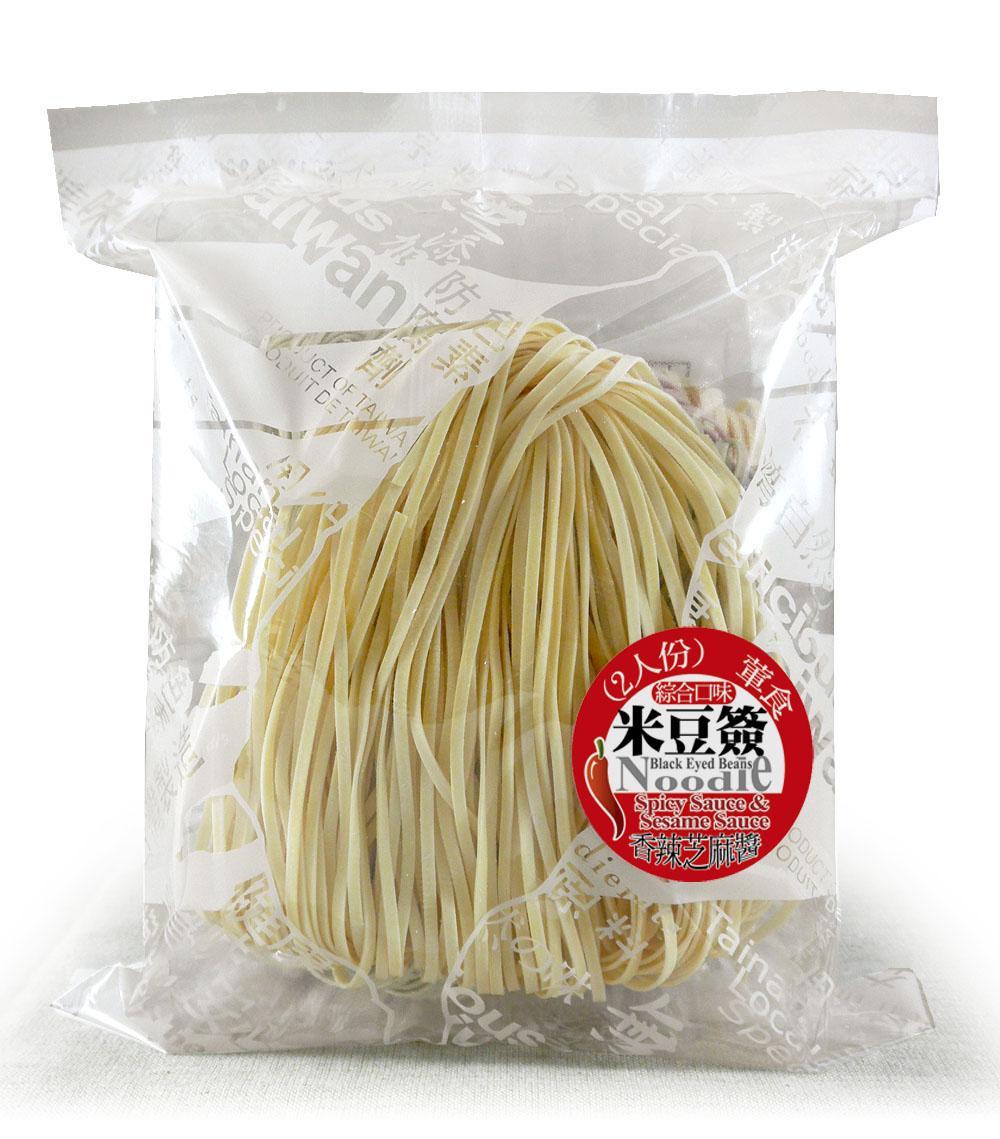 綜合米豆簽方便包(附香辣芝麻醬)(葷)